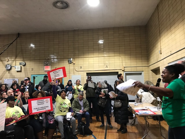 Fed-Up NYCHA Residents & Activists Disrupt Gowanus Rezoning Meeting - 'Before You Rezone, Fix Our Homes'