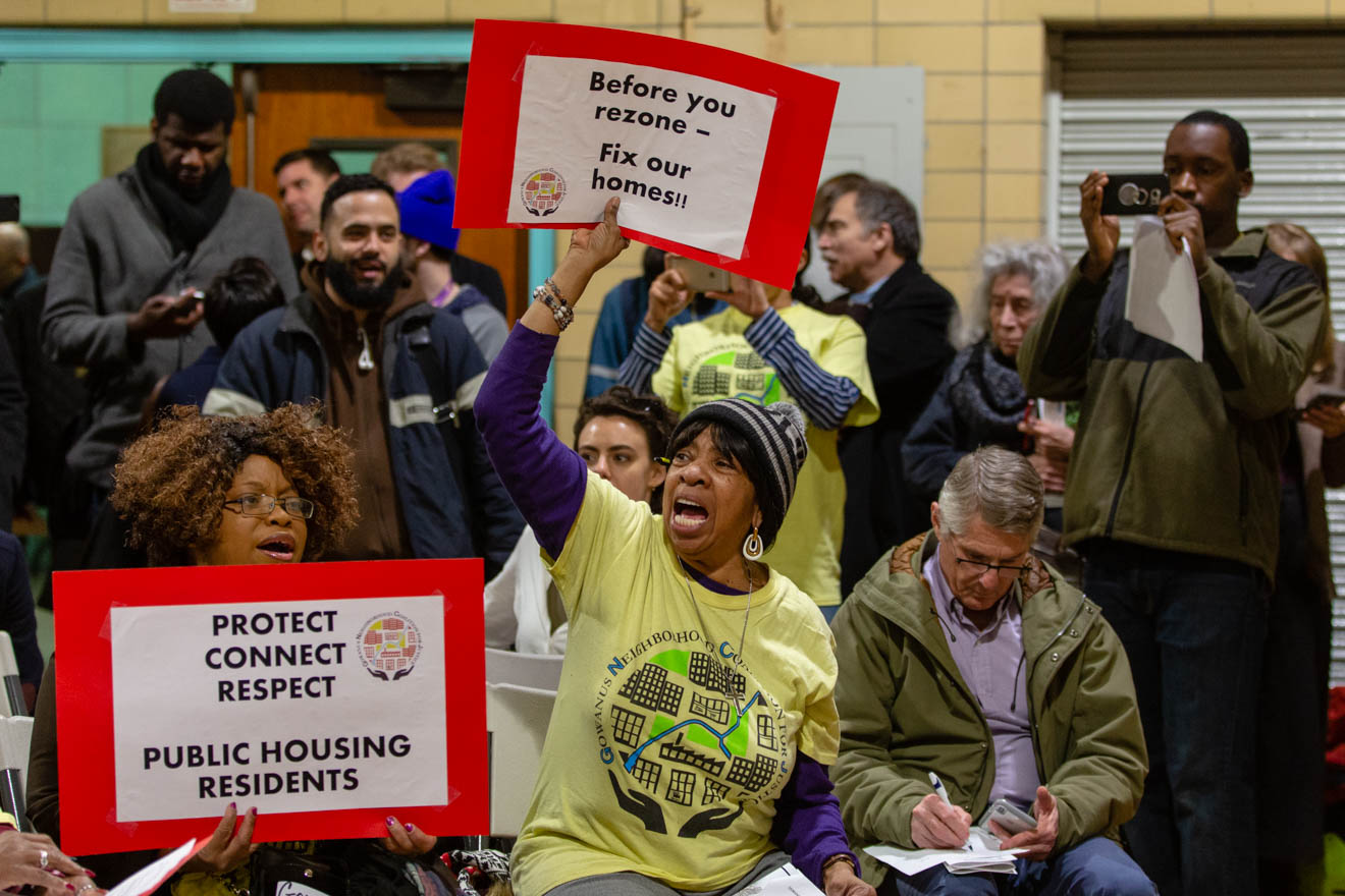 Activists Demand Answers At Gowanus Rezoning Open House -
