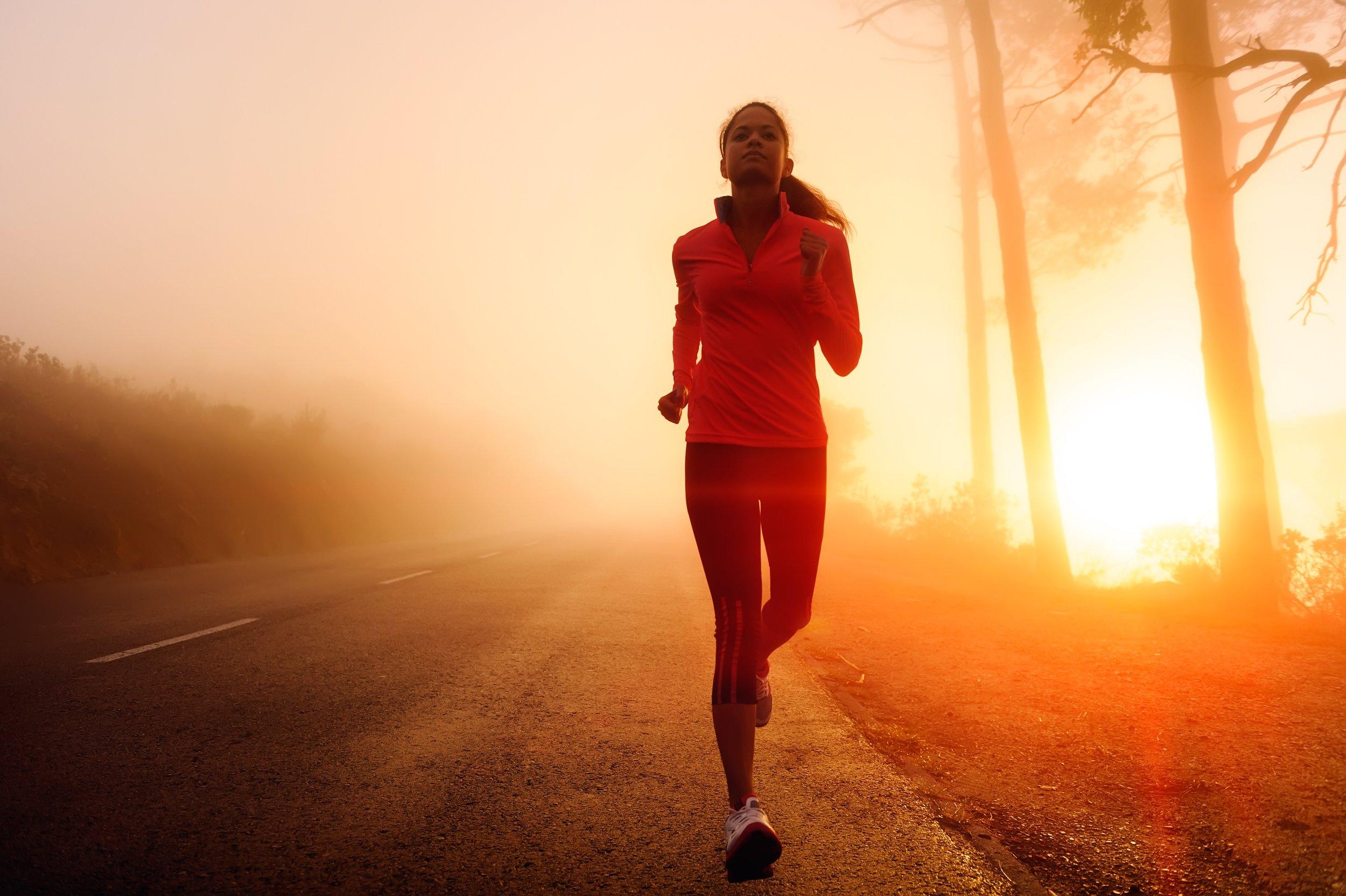 You just get better  woman running.JPG