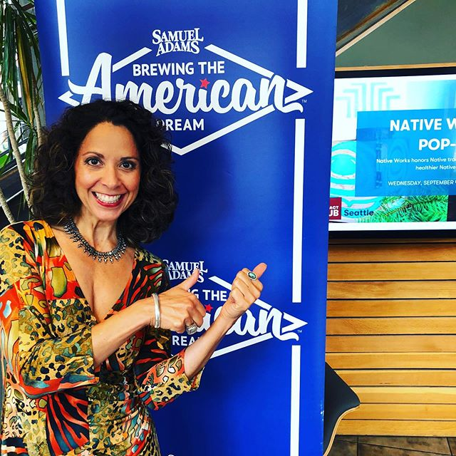 Honored to #mentor #food and beverage #entrepreneurs for @samueladamsct Brewing the American Dream! #giveback #payitforward #foodblogger #gigisorganics #cheflife #latina #smallbusiness #foodandbeverage #leadership