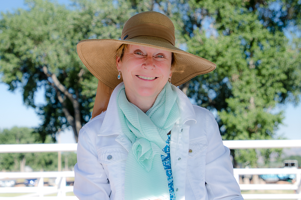 Judge and clinician Simone Windeler provided valuable input on tests during the June 2018 schooling show, followed by a clinic the following day, working with attendees on how to improve their dressage tests and scores.