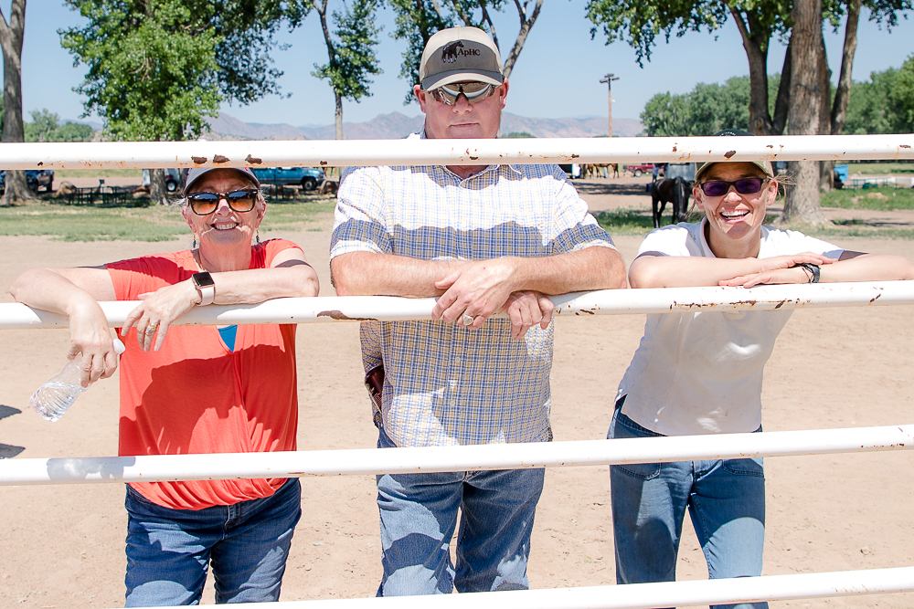 Western Dressage is making huge waves in the equestrian world, and AVDA Western Dressage chair Paul Gilbert, center, is here to help those who are wanting to get involved with the sport.