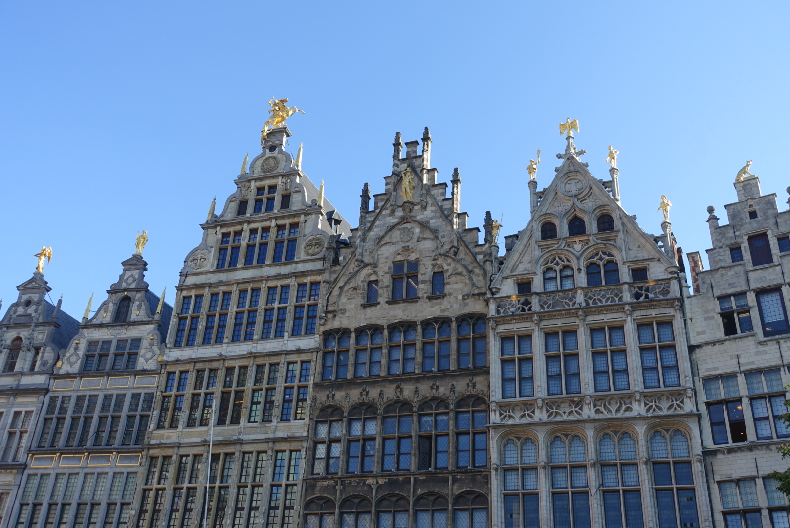 The beautiful architecture on the 'Grote Markt'