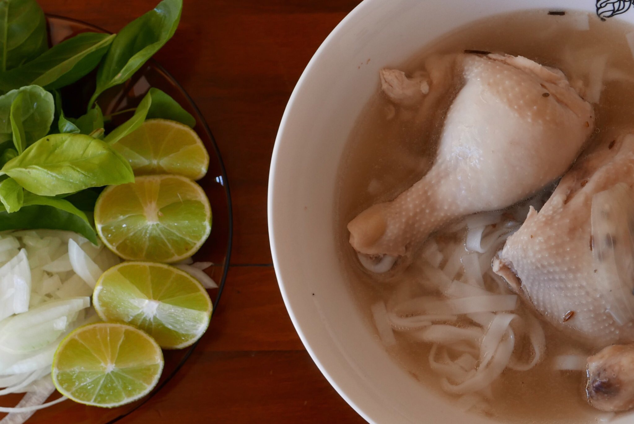Pho Ga is the traditional soup of Vietnam.