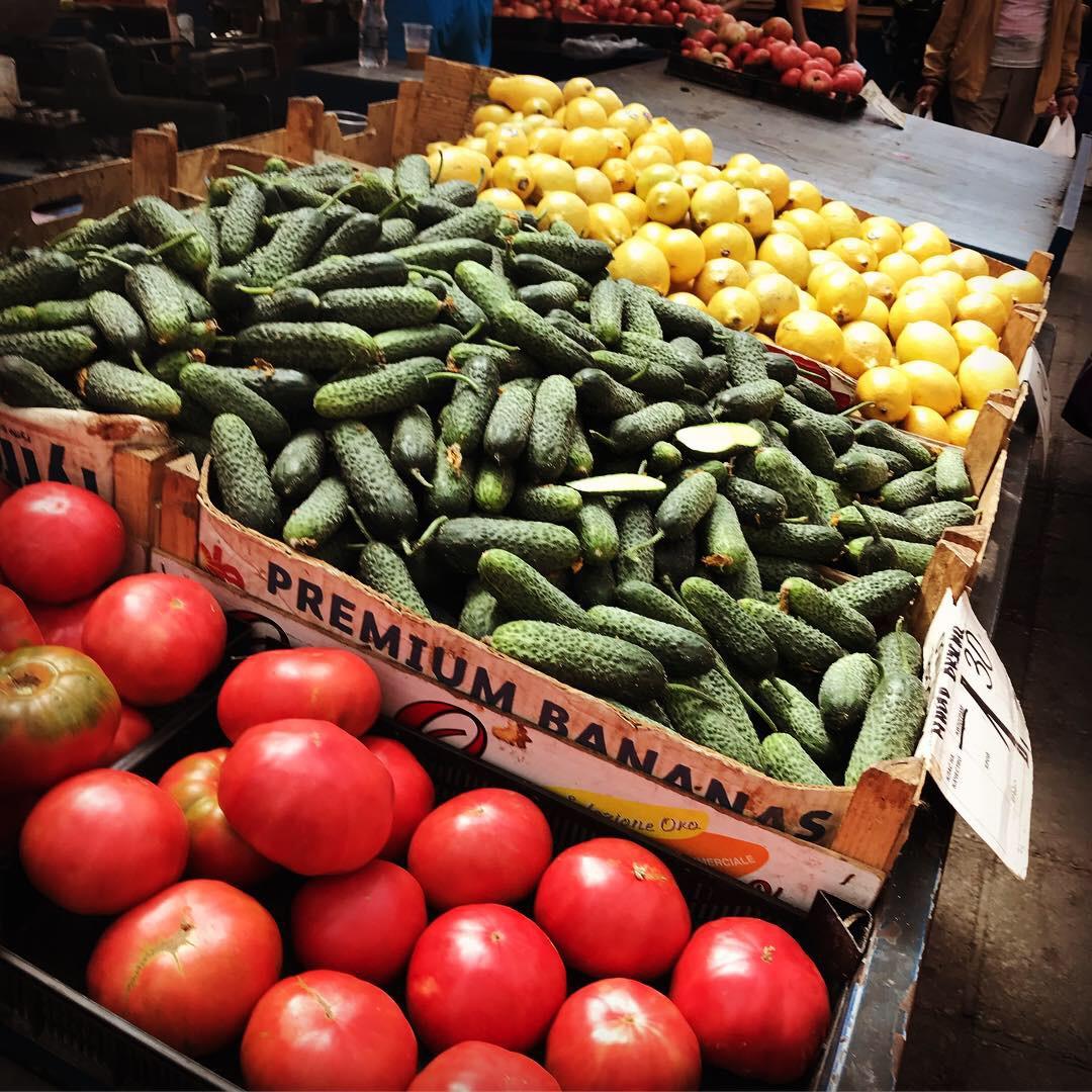 Bulgaria's soil yields incredible produce.