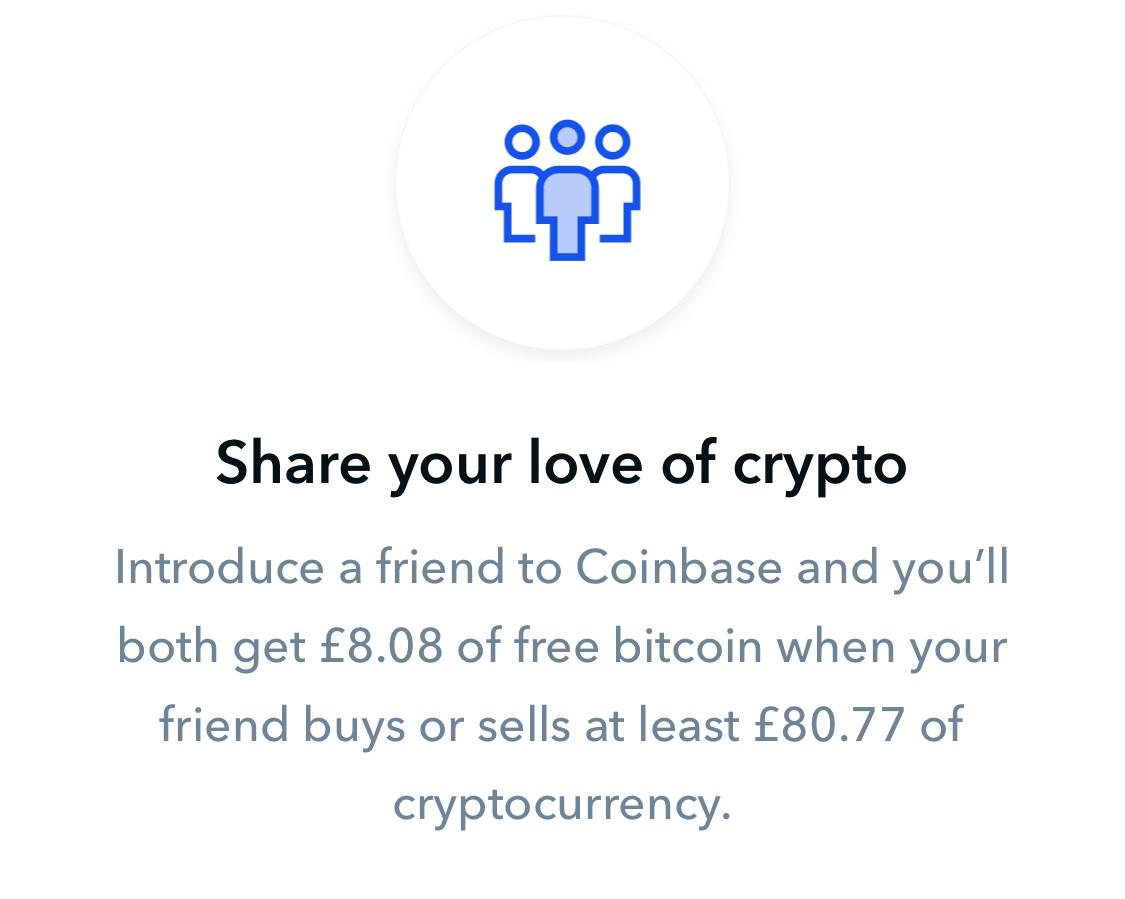 coinbase affiliate program screenshot