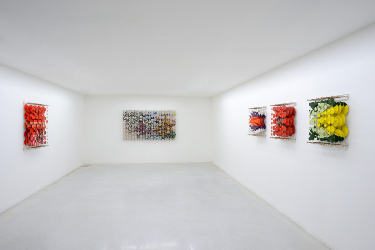 Never Comes Tomorrow 2015   Installation View   Paper, bamboo, acrylic, Dacron