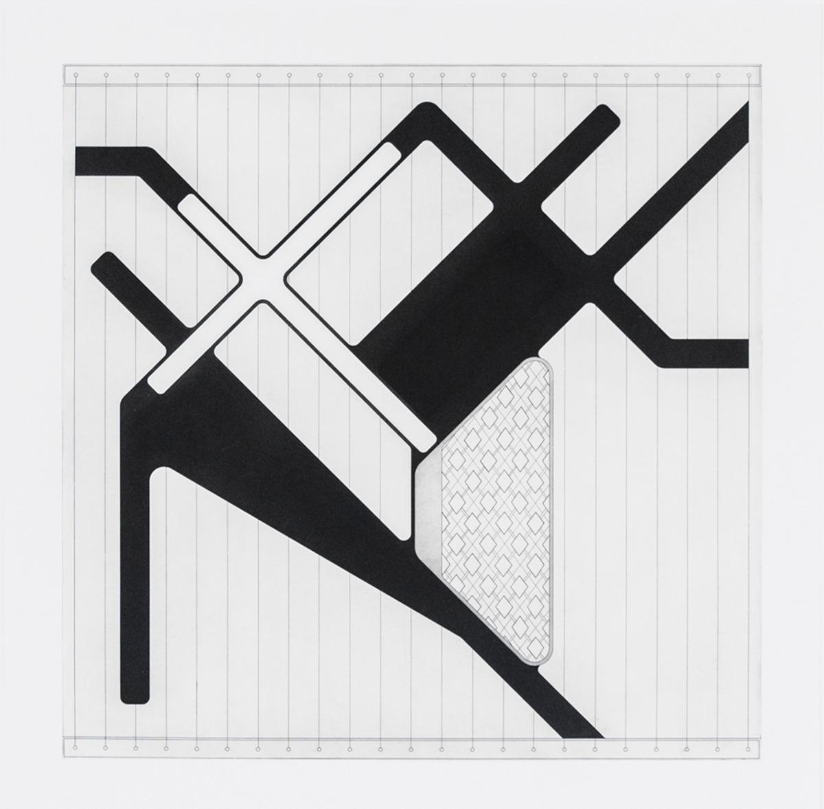 "Lemma V  ,  2015  Hard Ground Etching and Aquatint, Revere Silk 300gsm   Edition 21/25   27.5"" x 17.25"""