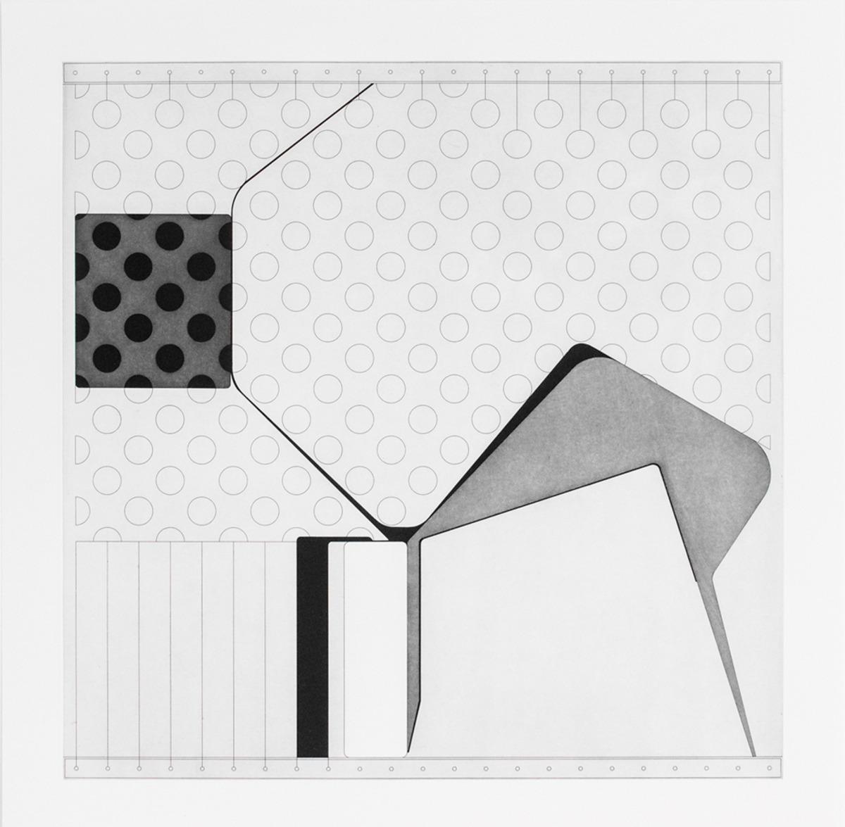 "Lemma IV  ,  2015  Hard Ground Etching and Aquatint, Revere Silk 300gsm   Edition 21/25   27.5"" x 17.25""     Durham Press"