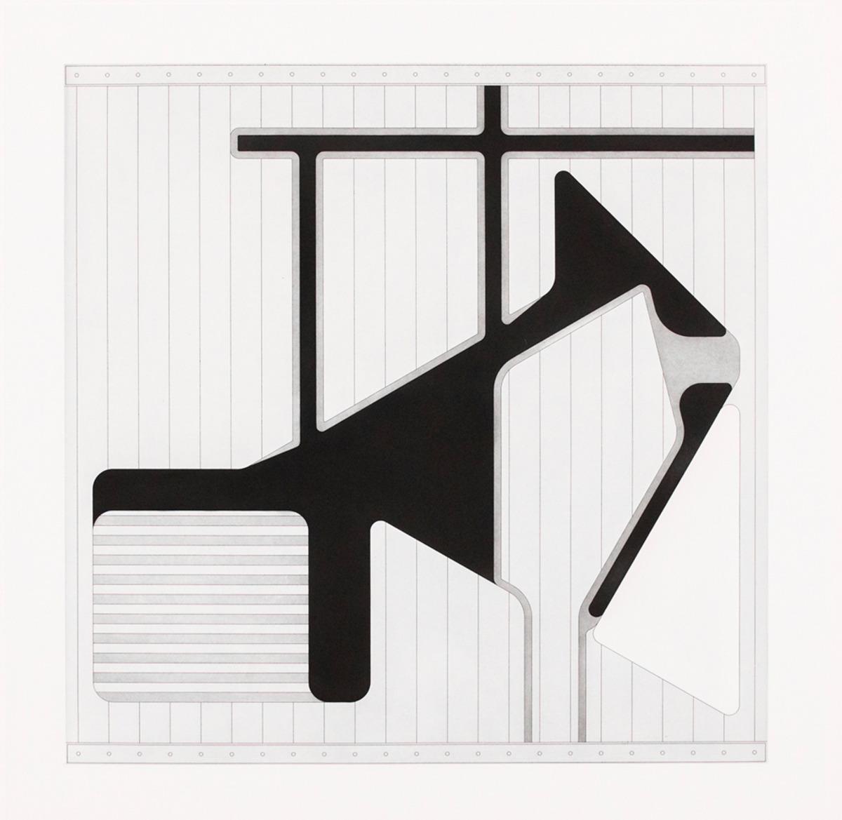 "Lemma III  ,  2015  Hard Ground Etching and Aquatint, Revere Silk 300gsm   Edition 21/25   27.5"" x 17.25""       Durham Press"