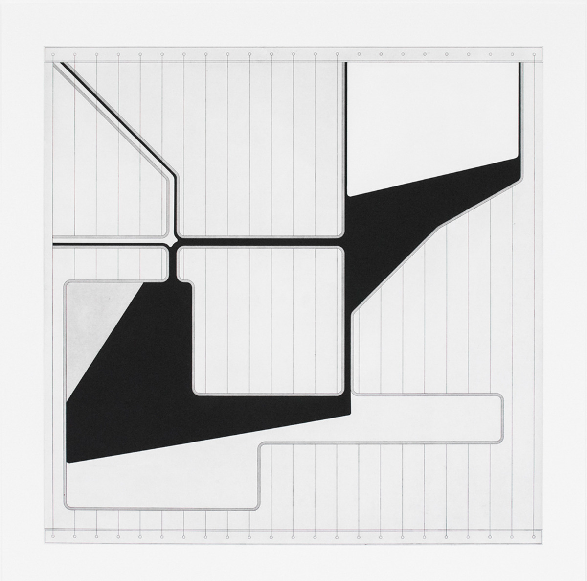 "Lemma I , 2015 Hard Ground Etching and Aquatint, Revere Silk 300gsm Edition 21/25 27.5"" x 17.25""    Durham Press"