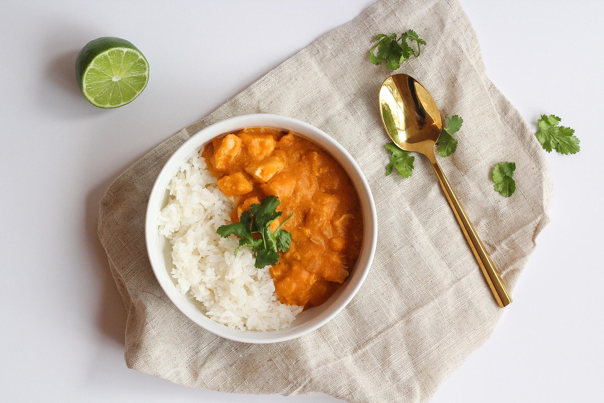 Crockpot Thai Chicken Curry