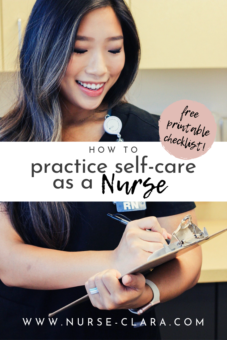 How to Practice Self-Care as a Nurse