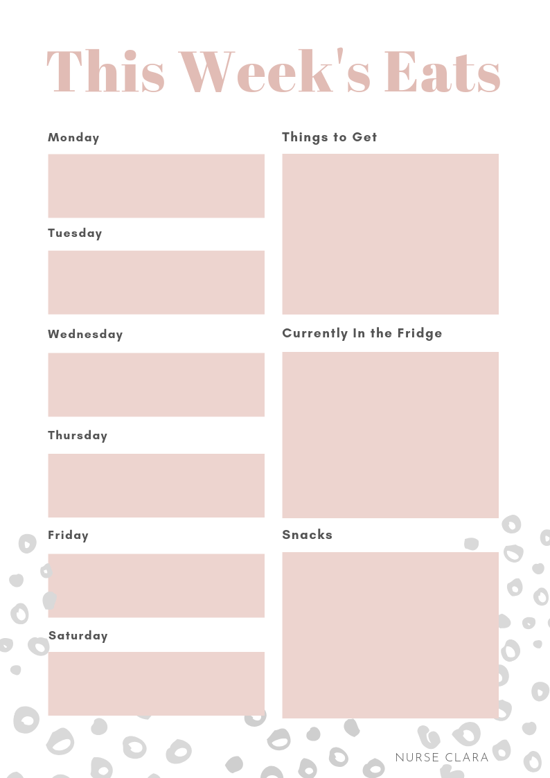 FILL OUT THE FORM BELOW TO GET YOUR FREE PRINTABLE WEEKLY MEAL PLANNER! -