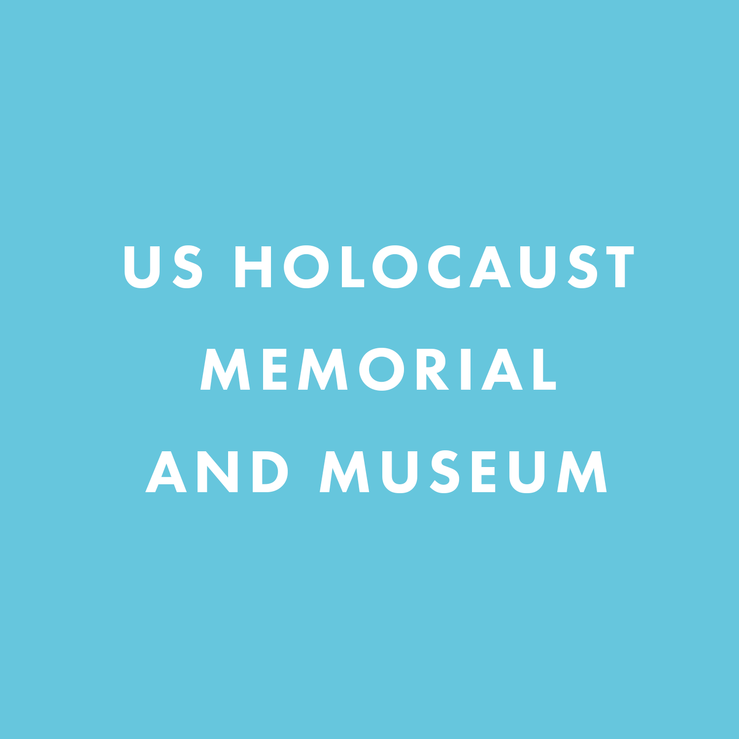 US Holocaust Memorial and Museum