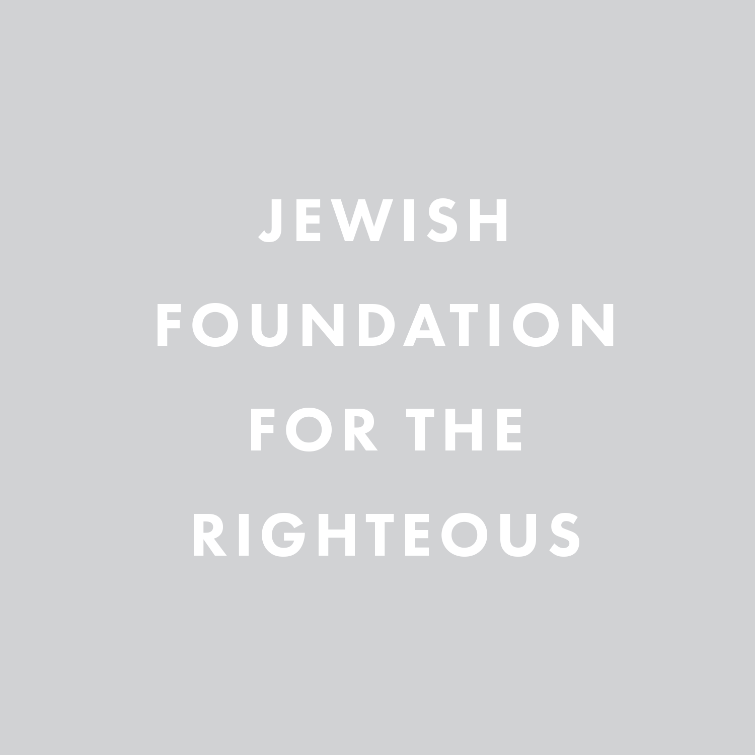 Jewish Foundation for the Righteous