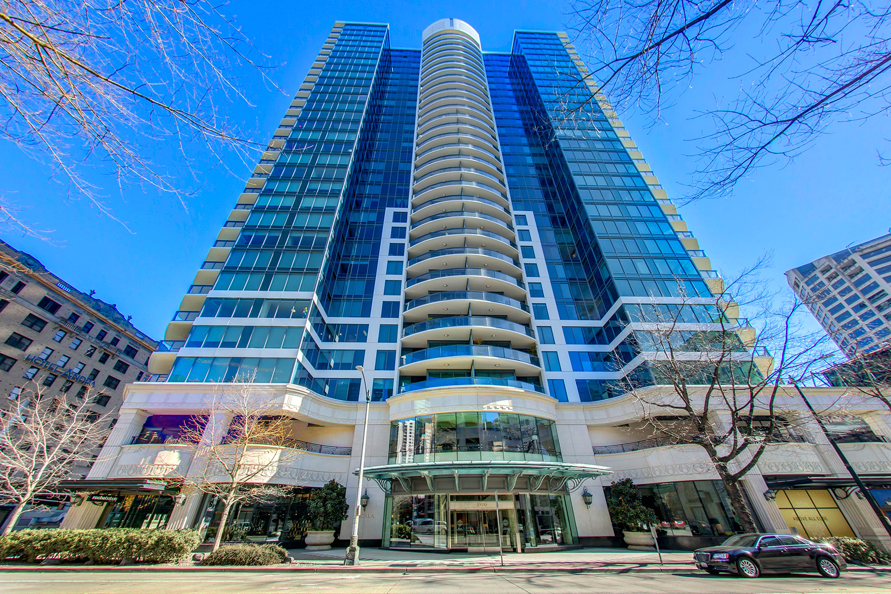 A rare opportunity to own a truly luxurious end unit at the top of Seattle's most iconic 31-story high-rise tower, Escala.
