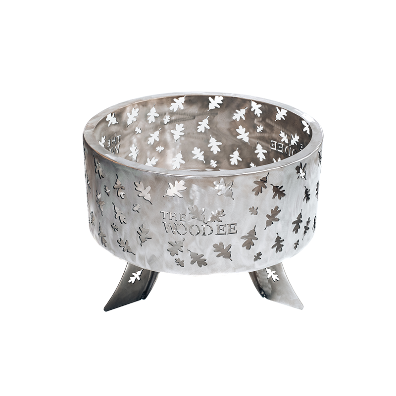 600mm Stainless Steel Fire Pit The Woodee Makers Of Beautiful Fire Pits