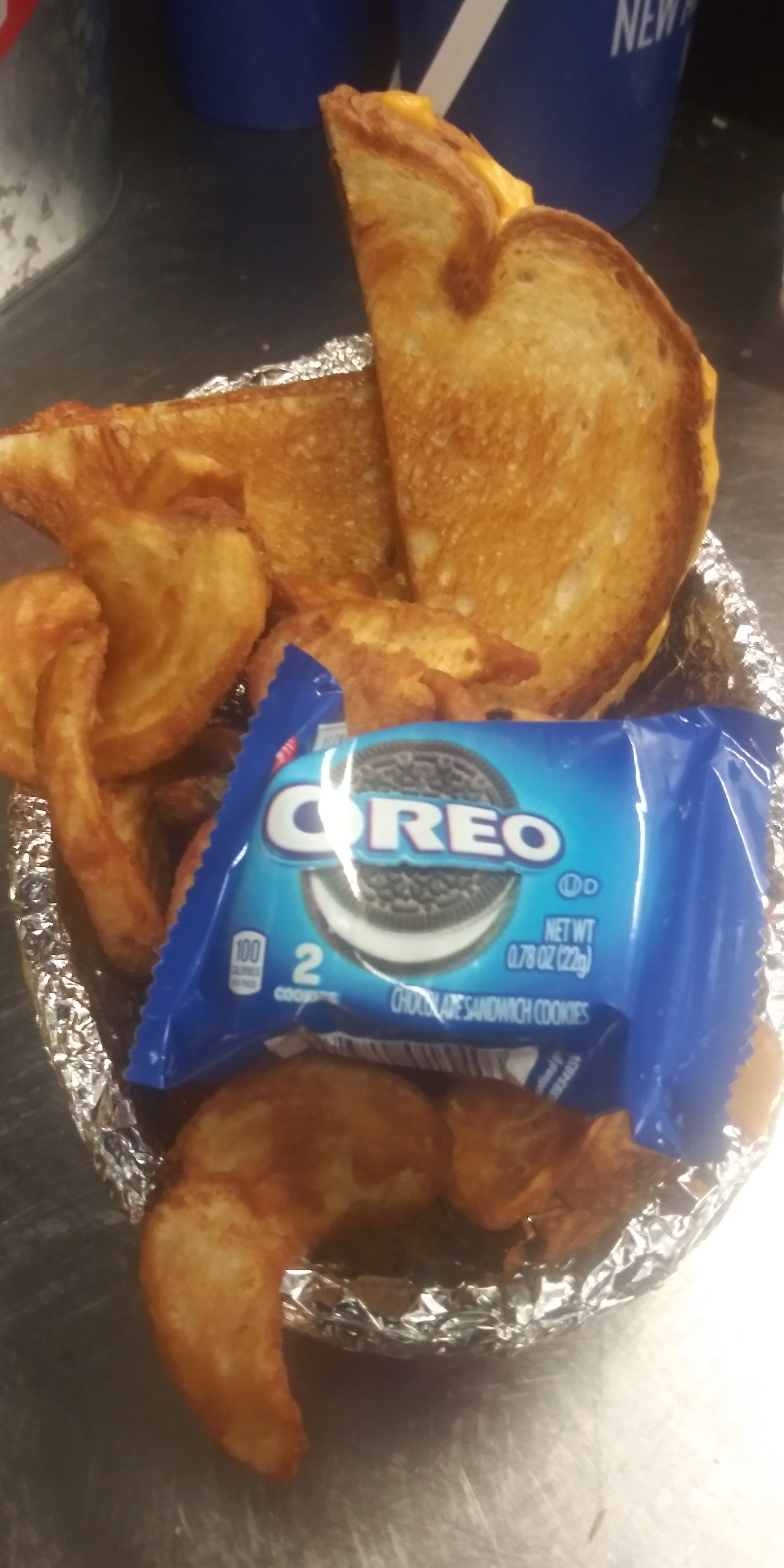 GRIILLED CHEESE WITH OREOS®