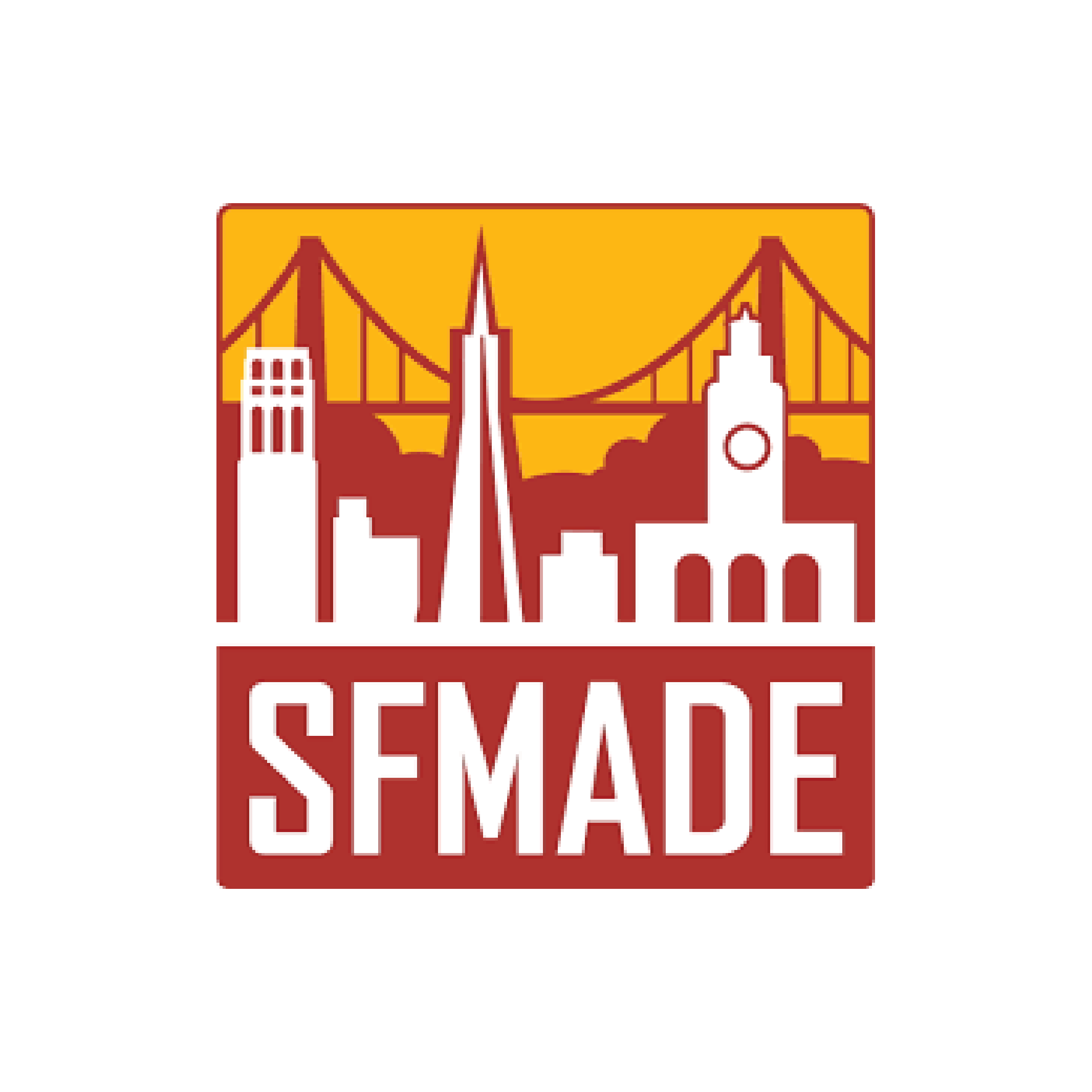 SFMade is a California 501(c)(3) non-profit corporation, established in 2010 and headquartered in San Francisco. SFMade's mission is to build and support a vibrant manufacturing sector in San Francisco that sustains companies producing locally-made products, encourages entrepreneurship and innovation, and creates employment opportunities for a diverse local workforce. SFMade currently engages more than 650 manufacturers across San Francisco who collectively sustain more than 5000 jobs.