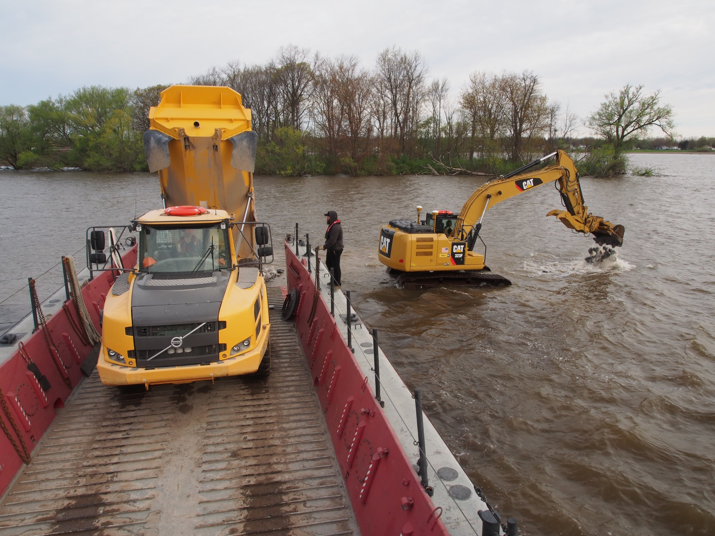 The wesson group, llc - BRADDOCK BAYDREDGING, SITE WORK, MARINE TRANSPORTATION