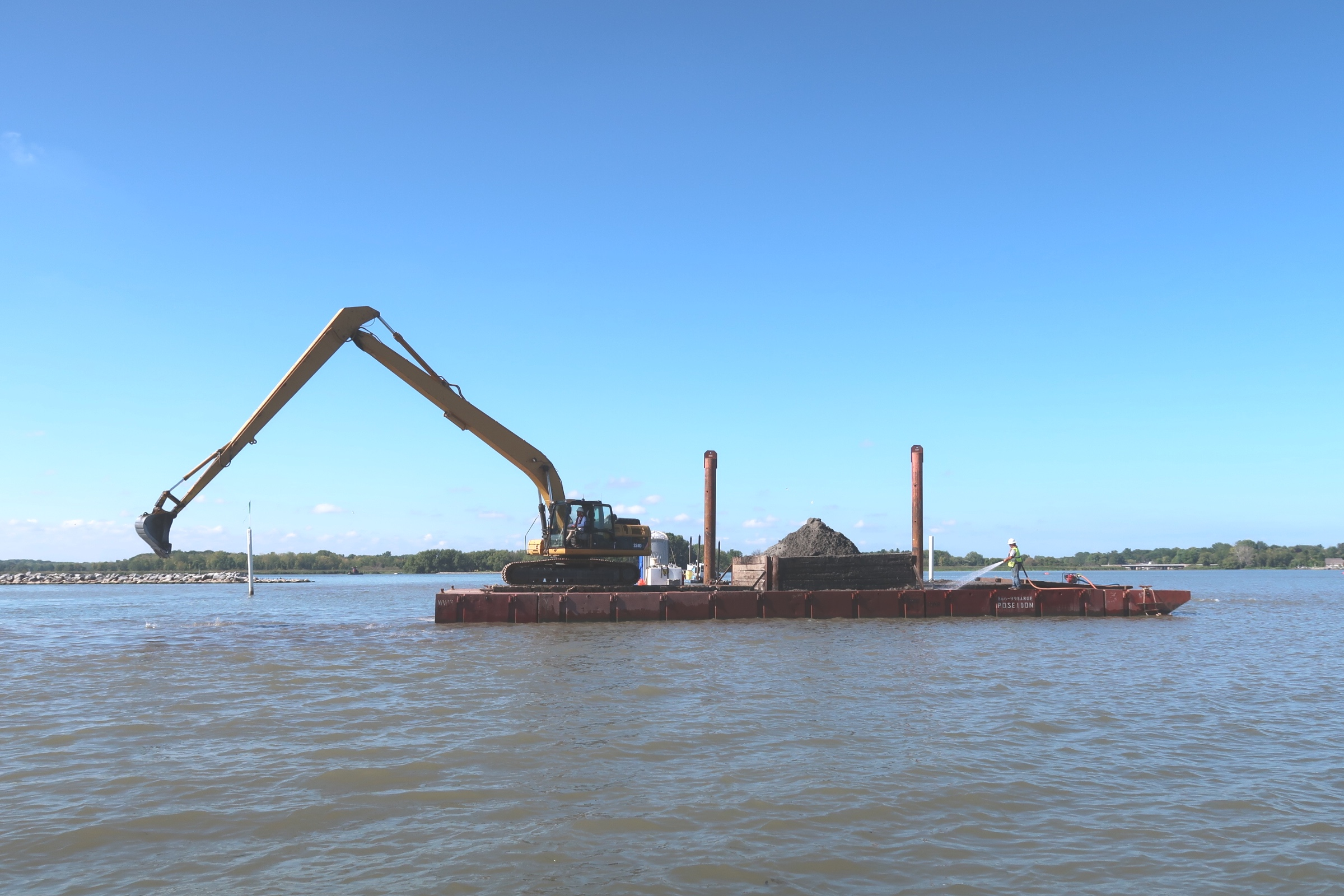 U.S. Army Corps of Engineers, Braddock Bay, NY Navigational Dredging Project with The Wesson Group