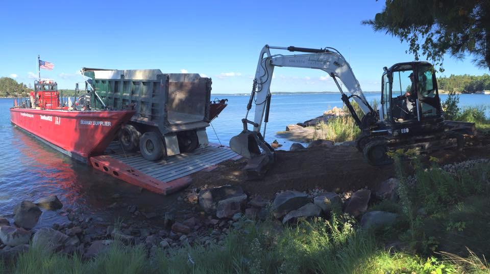 foundation excavation -