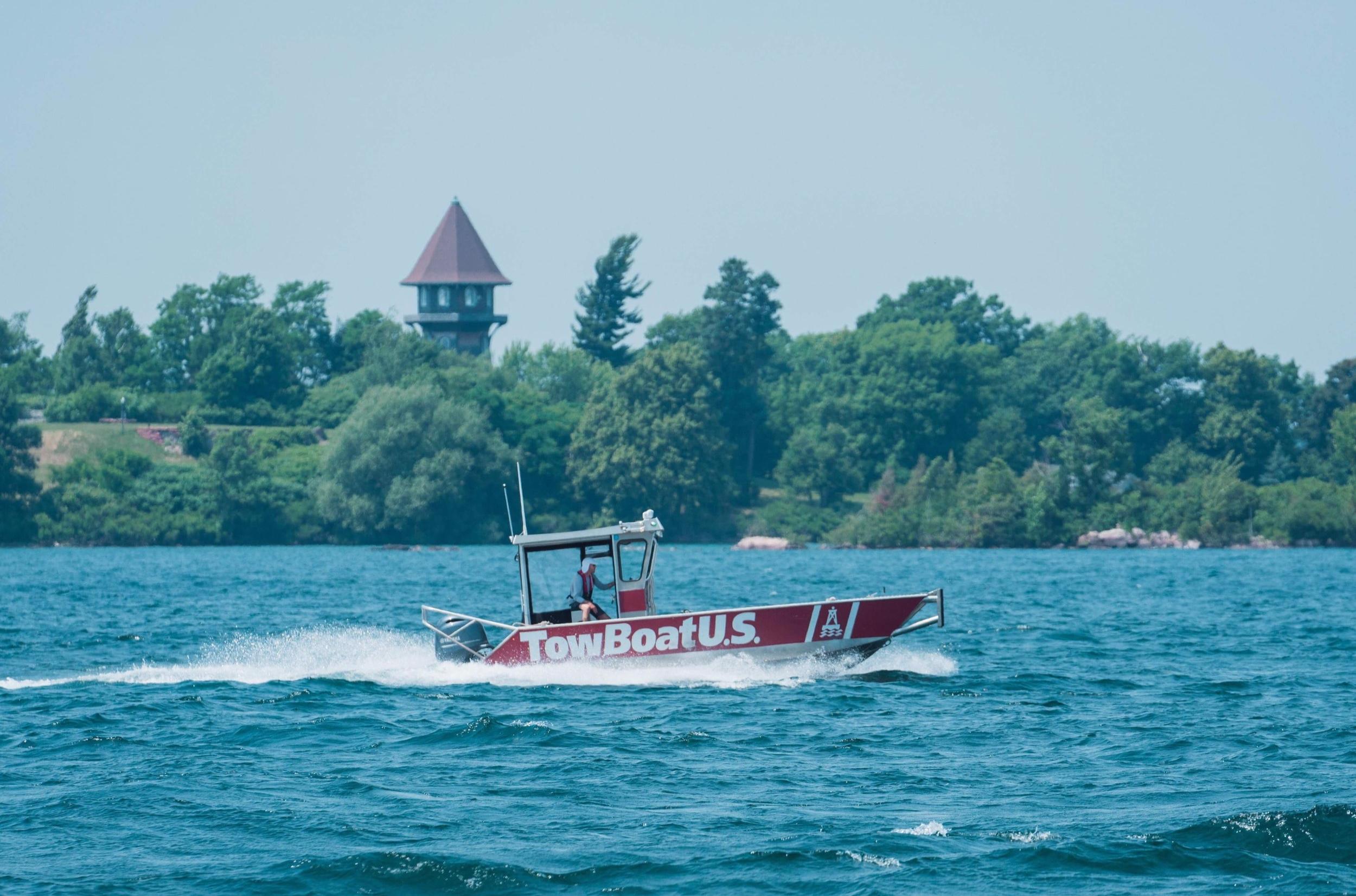 TowBoatU.S. Clayton, towing boats, Thousand Islands