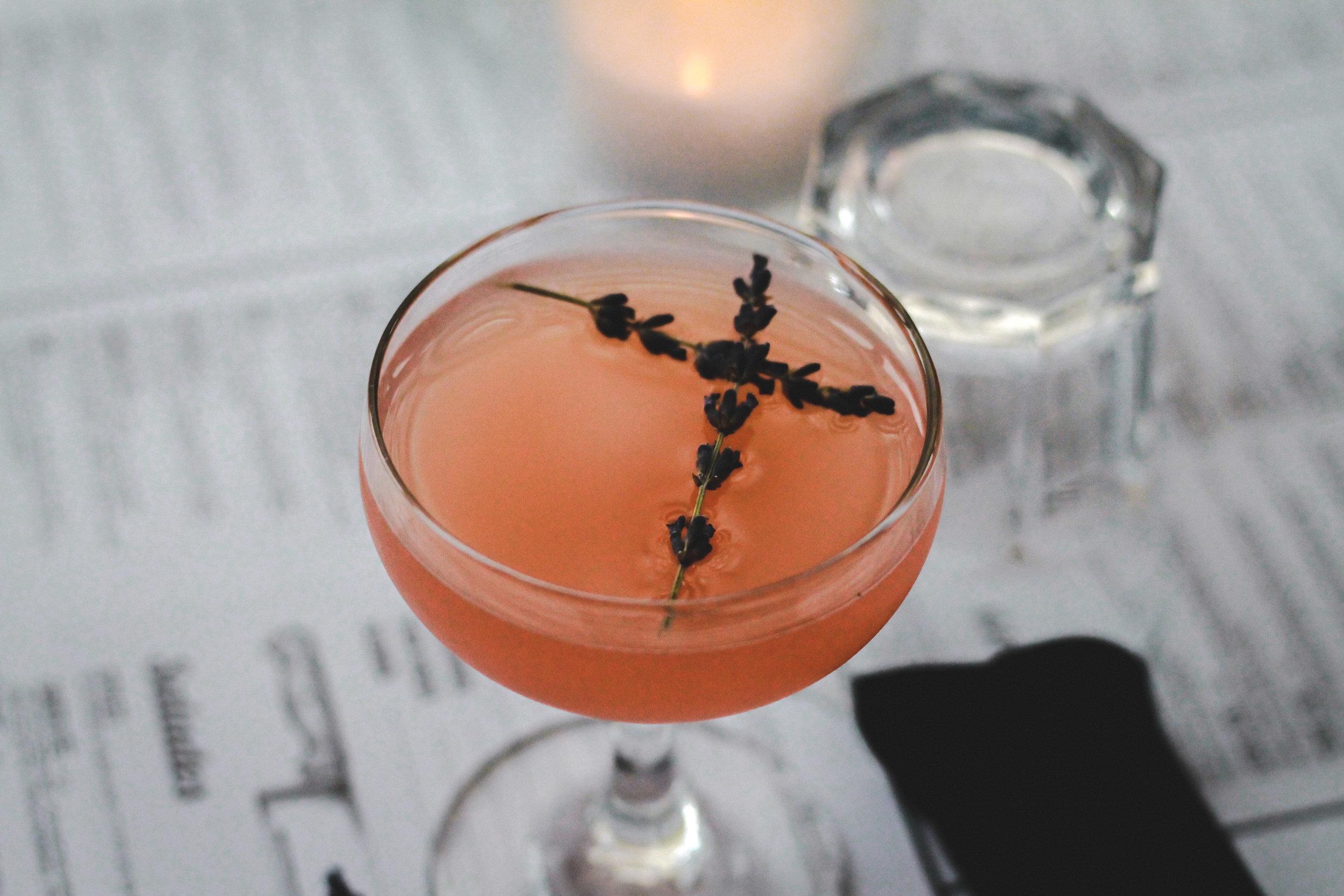 Le cocktail MAISON LAVANDE