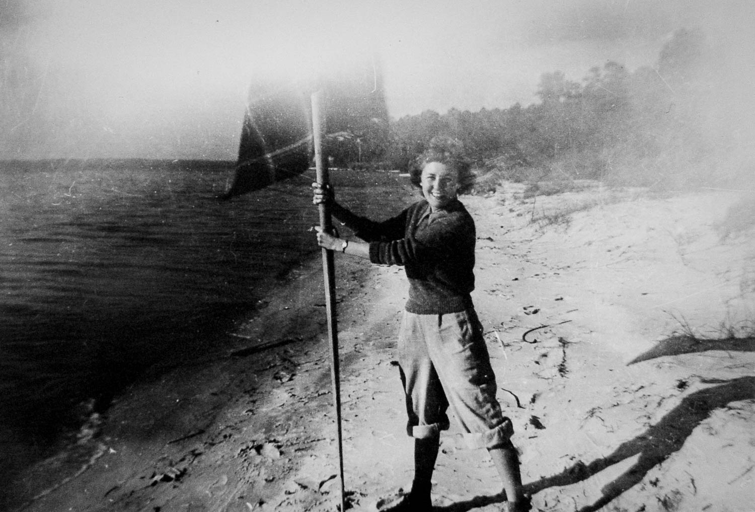 Barbara Smith Coan during service in the WAVES, ca. 1943