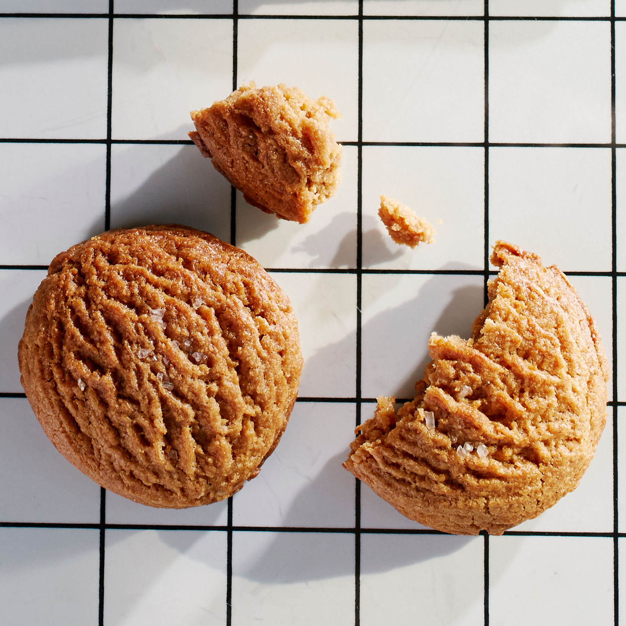 Salted Peanut Butter Cookie