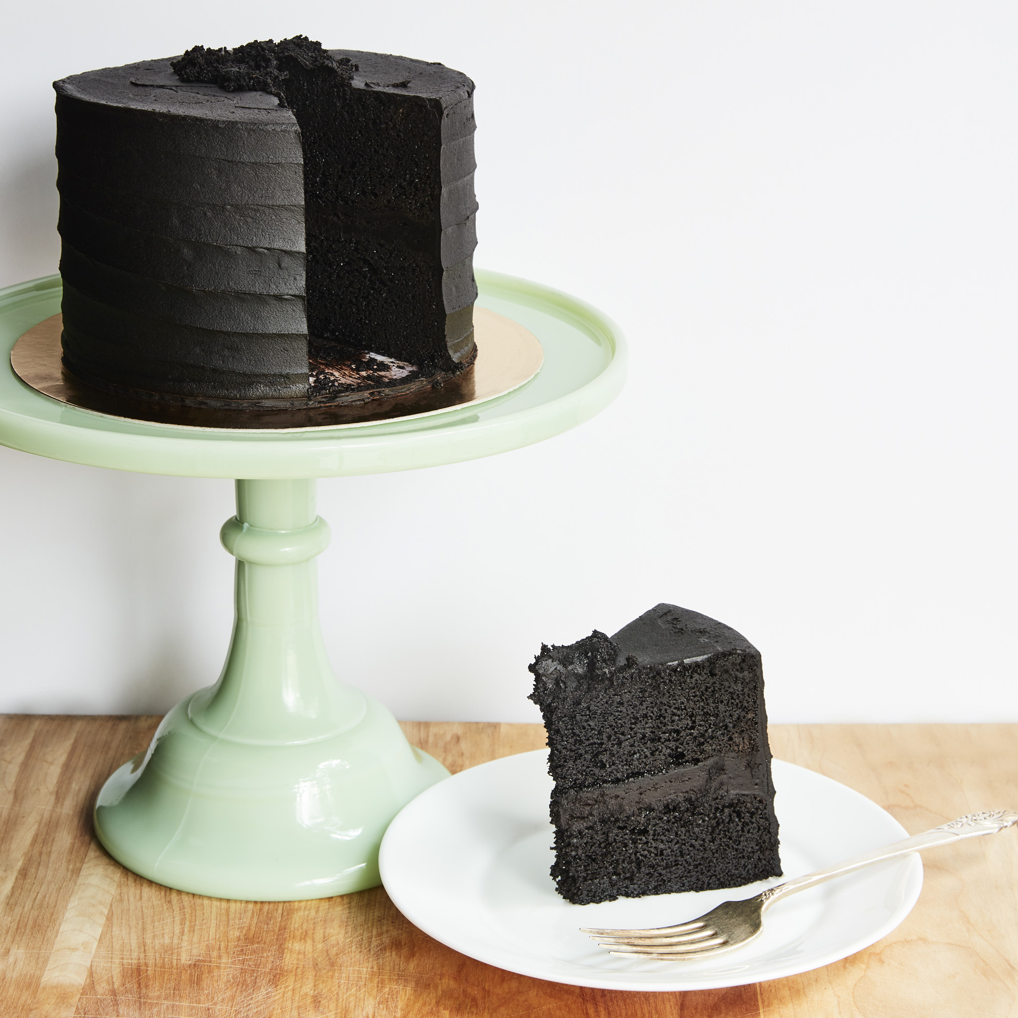 Brooklyn Blackout Cake and Slice