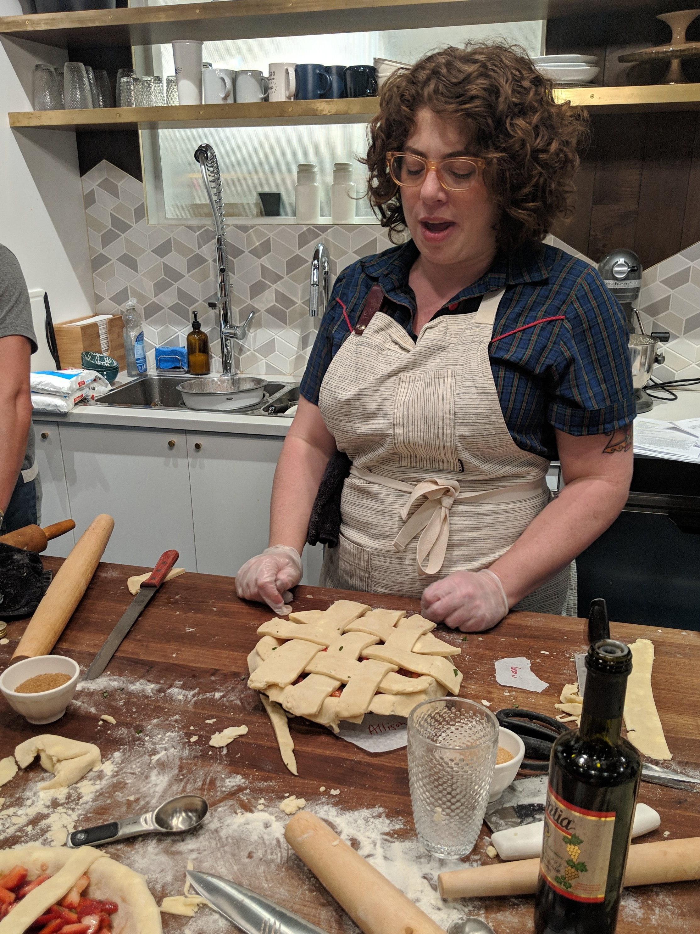 Pie Making with Guest Chef Allison Kave