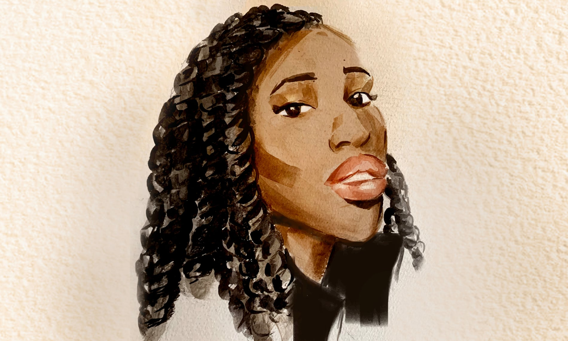 Dream McClinton: 'We are not as valued as our lighter skinned counterparts.' Illustration: Debra Cartwright