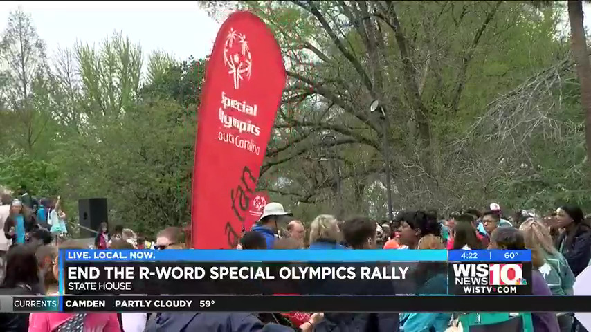 10th annual 'End the R-word' Special Olympics rally held at the SC Statehouse Tuesday