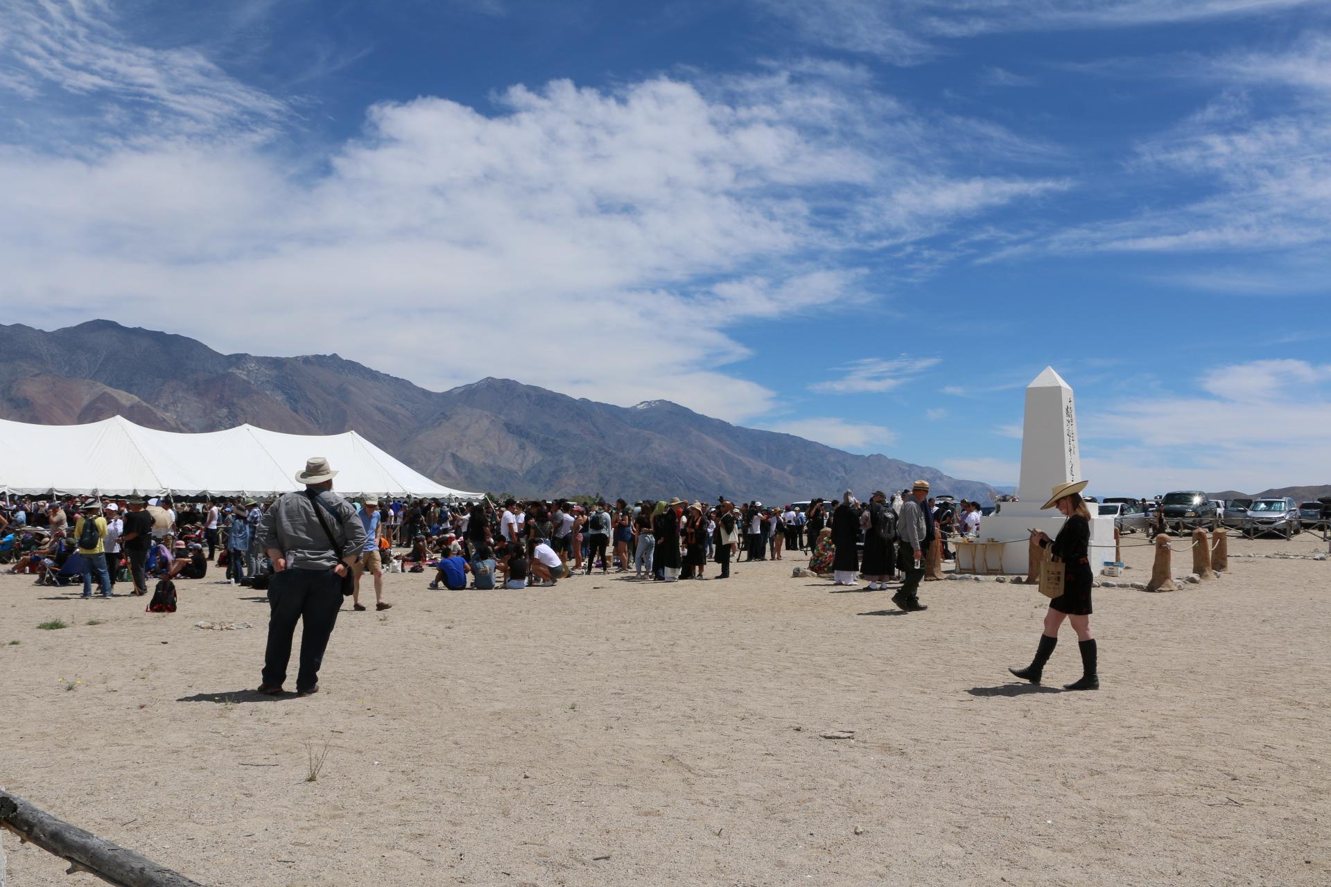 (Manzanar 50th Pilgrimage. Photo Credit: Athena Mari Asklipiadis)