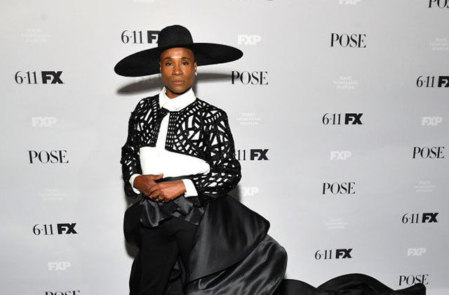 """Billy Porter, who plays Pray Tell on FX Network's """"Pose,"""" attends the show's season two premiere in New York City on June 05, 2019.  Photo: Dia Dipasupil/Getty News Images"""