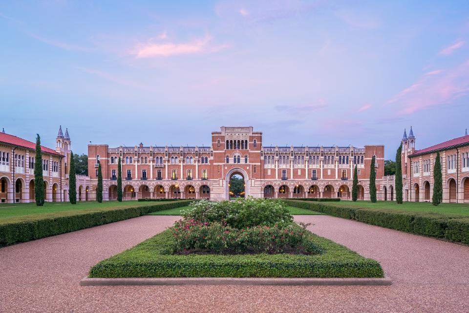 Rice University's Lovett Hall. (Getty)