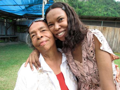 Olive Moxam-Dennis (left) said though she always knew she was Indian (Tainos), they never discussed. It was her daughter, Dr Erica Neeganagwedgin (right), who helped her to embrace her Taino heritage.