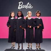The Barbie Career of the Year doll is a judge to inspire more girls to explore judicial careers. (Photo: Barbie)