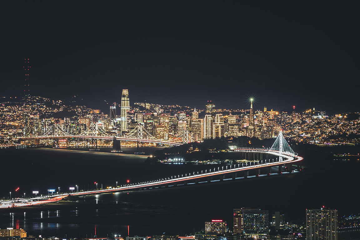 Bay Bridge, California