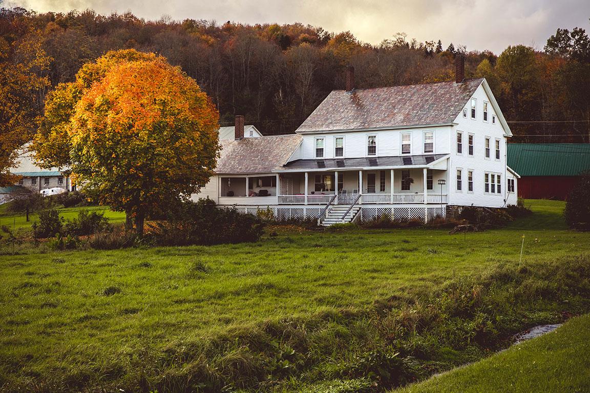 A New England autumn