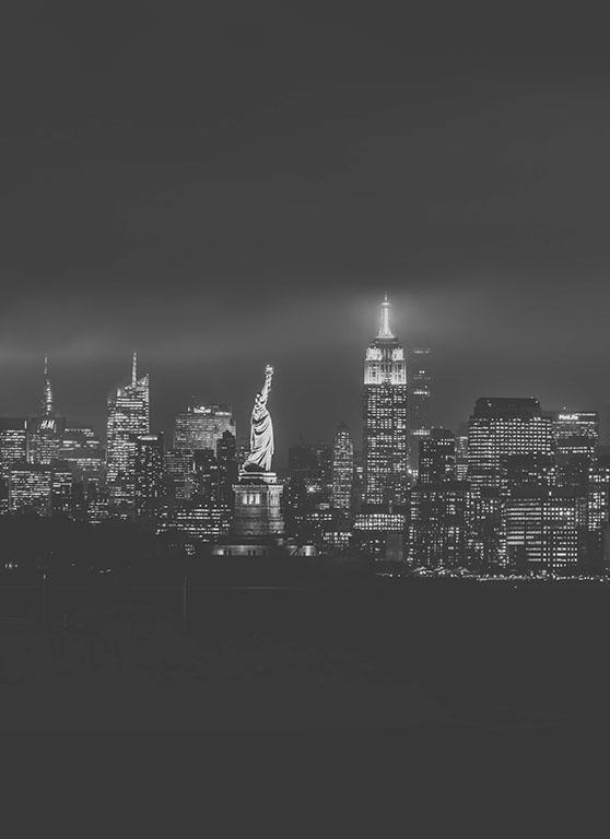 Lady Liberty - B&W