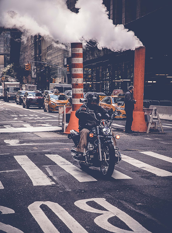 New York on two wheels