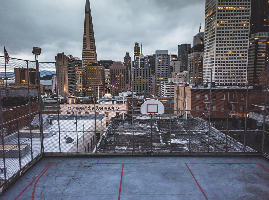 A court in the sky