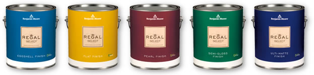 Regal Select Interior Paint - Regal Select Interior has been a trusted brand for more than 50 years and is formulated for easy cleaning in a wide variety of sheens.Available in thousands of colours.Available in Flat, Ulti-Matte, Eggshell, Pearl and Semi-Gloss finishes. Note: Flat finish is special order at our location.Available in quart or gallon sizes.Quart Price: $29.99 + HSTGallon Price: $69.99 + HST