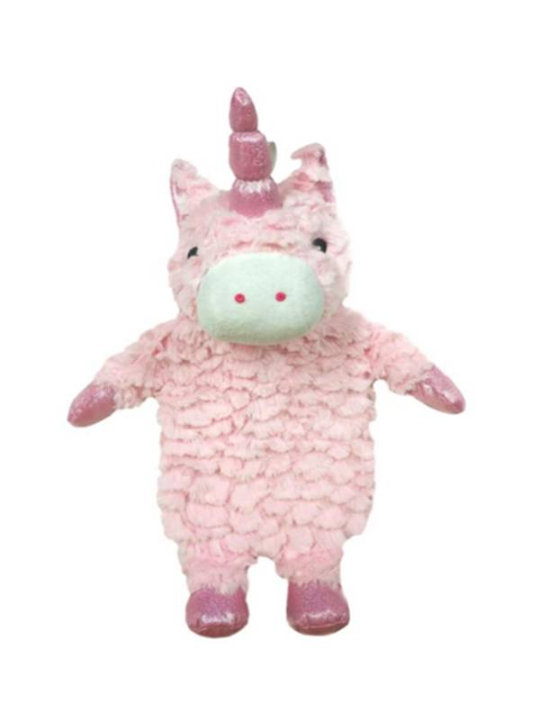 Sparkle the Unicorn Hot Water Bottle + Holder - Includes hot water bottle + unicorn holder.Colour: Pink / White / GlitterDimensions: N/APrice: $21.00 + HST