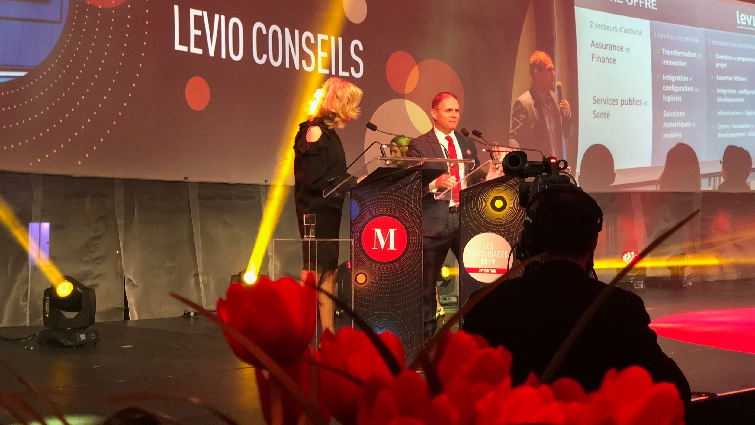 Winner! Mercuriades 2019 - MONTREAL, April 29th, 2019Levio Consulting wins the Mercure Award for Outstanding Regional Economic Impact.