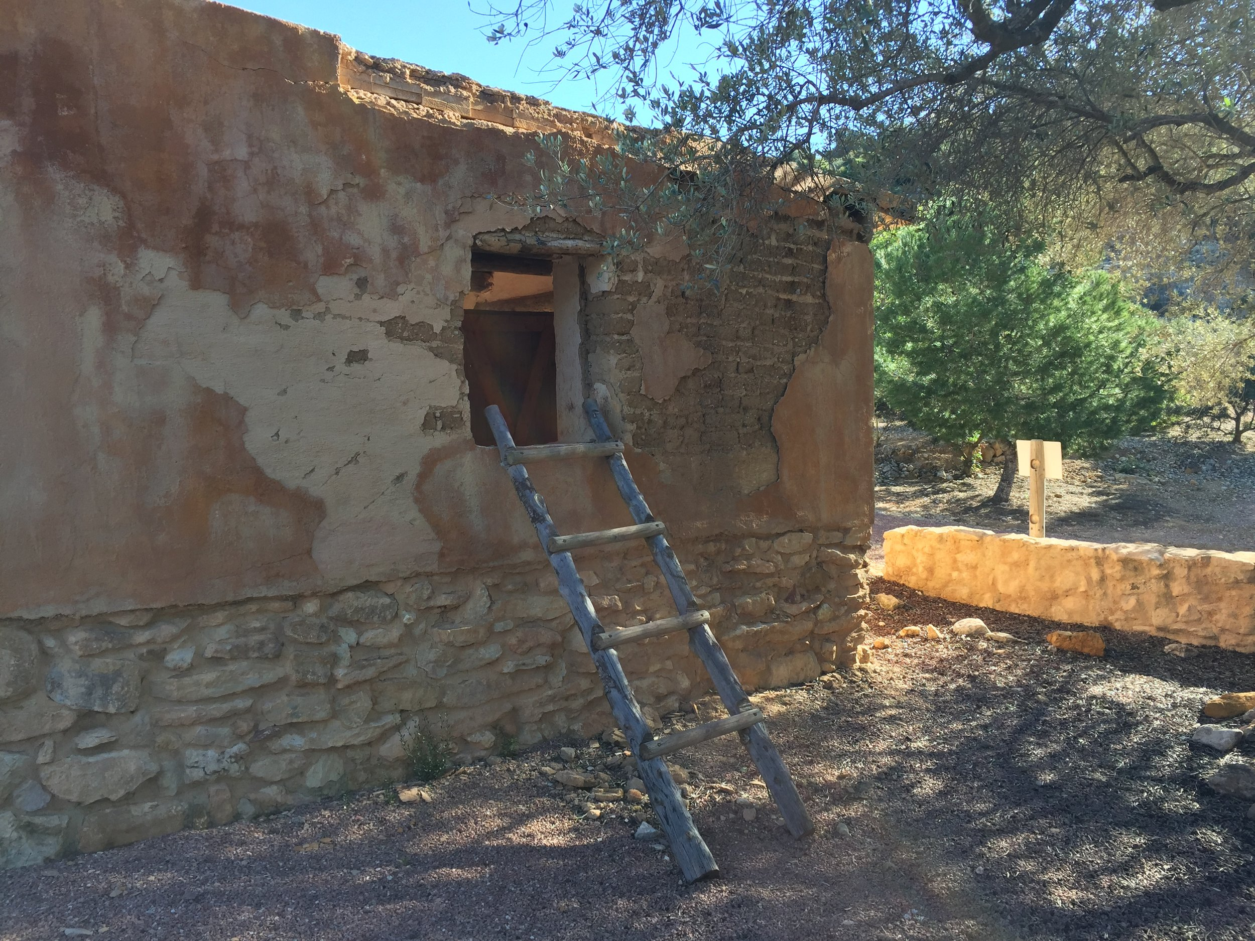 reconstruction iberian hilltop village.JPG