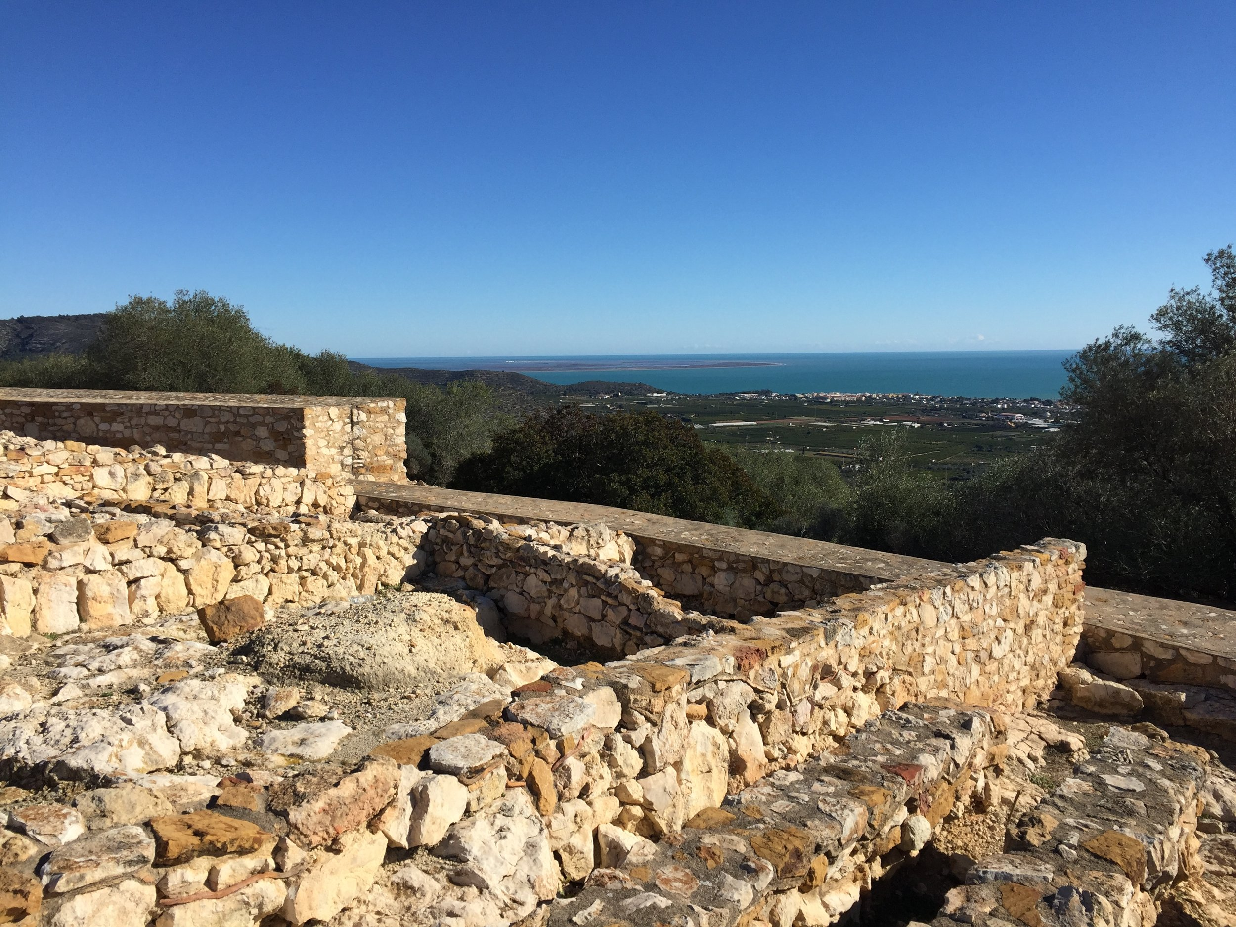 Iberian hilltop fort.JPG